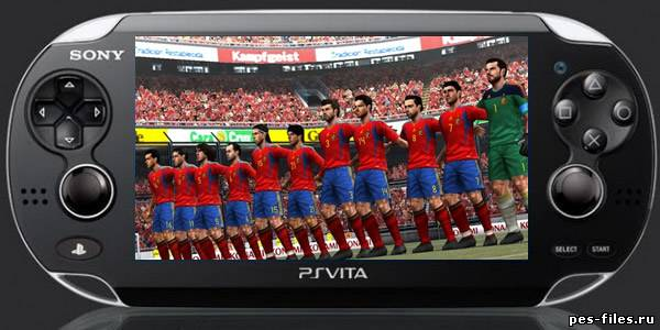 PES 2012 Gameplay On Vita !!!