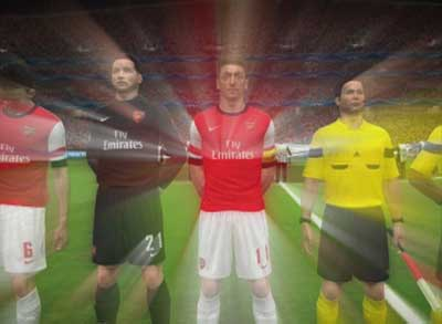 Pes 2014 Arsenal mistics goals