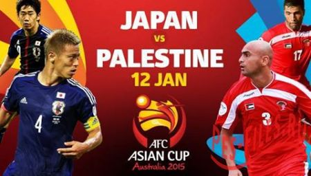 Japan vs Palestine AFC Asian Cup Australia 2015