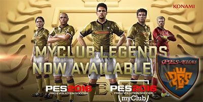 PES 2016 myClub Legends Neymar and Abdulrahman