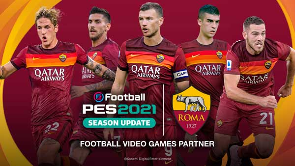 PES 2021: Roma - Juventus Gameplay