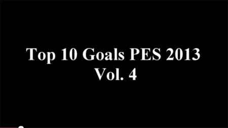 Top 10 Goals PES 2013 Vol. 4