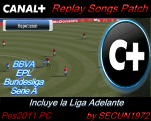 CANAL+ REPLAY SONGS PATCH