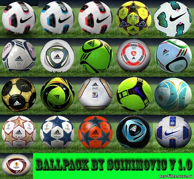 PES 2011 Ball Pack