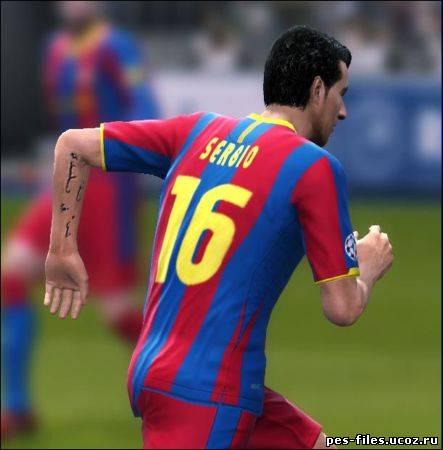 PES 2011 Tattoo Pack v2