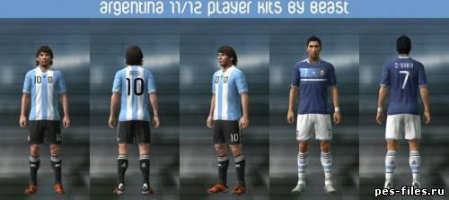 Argentina 11-13 Player Kits
