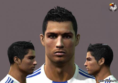 Pes 2011 Cristiano Ronaldo Face by nickless