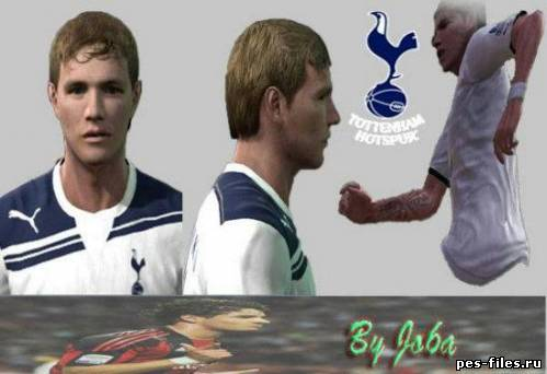 Pes 2011 Pavlyuchenko Face & Tattoo