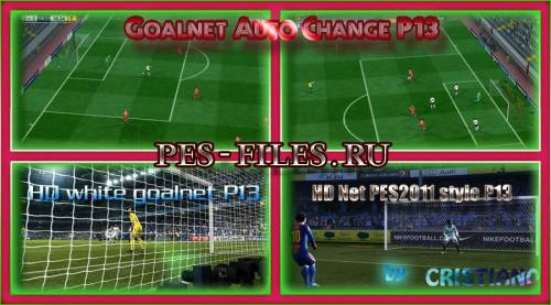 [Graphics] HD Goalnet For Pes 13