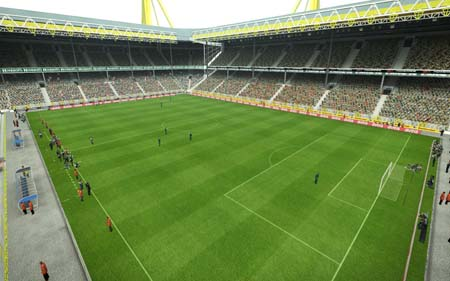 Pes 2013 Signal Iduna and Volkswagen Arena realistic stadiums patch Preview