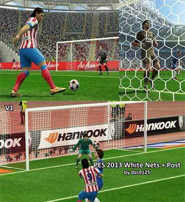 White Nets for pes 2013