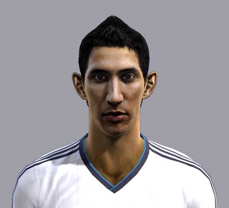 Pes 2013 Angel Di Maria face by Nord