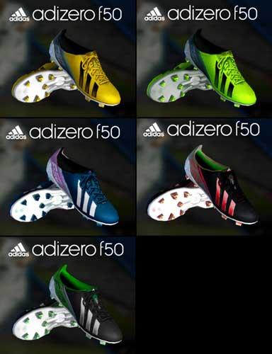 4ea535548 PES 2013 Adidas F50 Adizero III Pack, патчи и моды