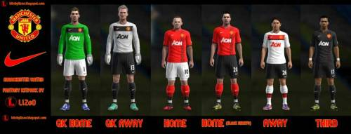 Kits Manchester United Fantasy 2013
