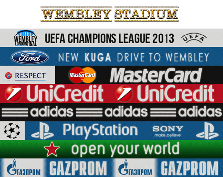 Pes 2013 Adboards from compatible with Gameplay tool