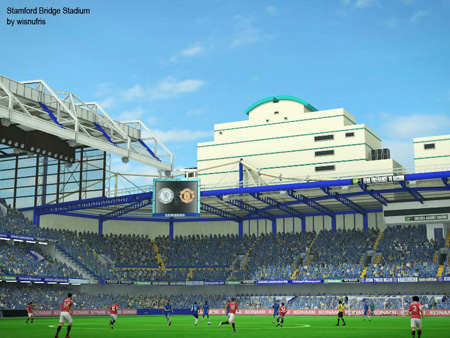 PES 2013 Stamford Bridge Stadium