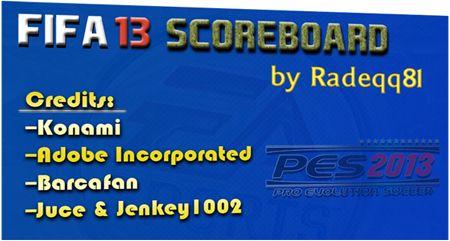 EA Sports FIFA 13 Scoreboard