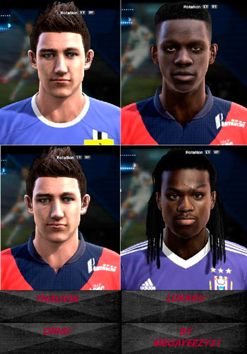 Pes 2013 The young talents Facepack