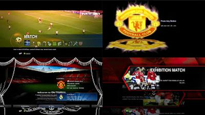 Manchester United F.C. Style Patch PES 2013