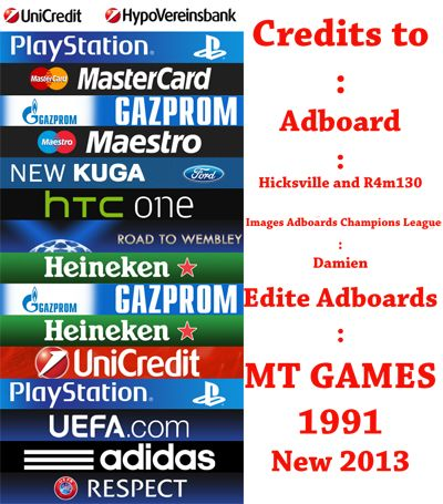 Actual Adboards Champions League