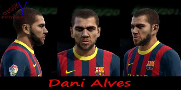 Pes 2013 New face Dani Alves