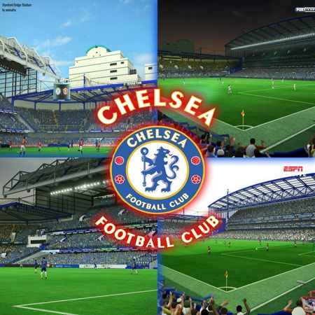 PES 2013 Stamford Bridge Stadium - Стемфорд Бридж
