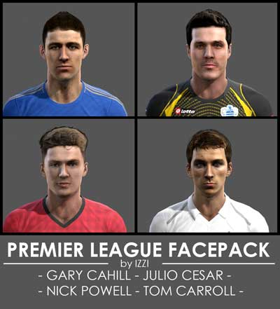 Premier League Facepack by izzi