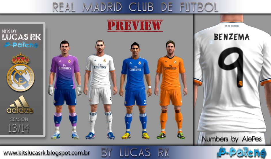 Kits Real Madrid 2013/14