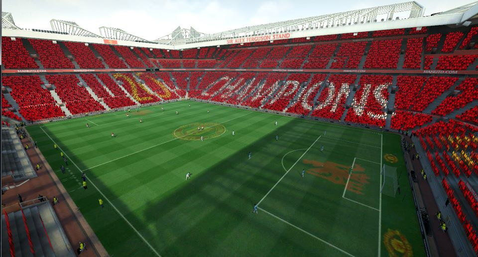 Mosaic Old Traffor - Manchester United Champions