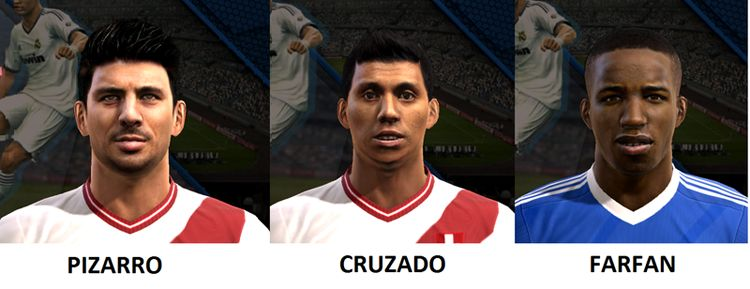 Pes 2013 Minifacepack by Jean19lima