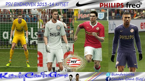 Pes 2013 Kits PSV Eindhoven 2013/14 by CANDRAGAME