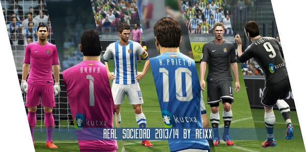 Kits Real Sosiedad 2013/14