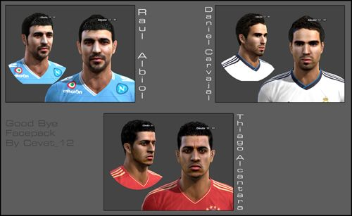 Pes 2013 Goodbye Facepack by Cevat_12