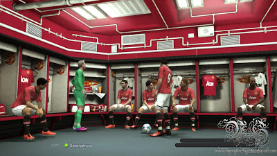 Pes 2013 Locker Room Manchester United by Namaku Han