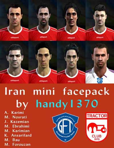 Iran Mini Face Pack v2