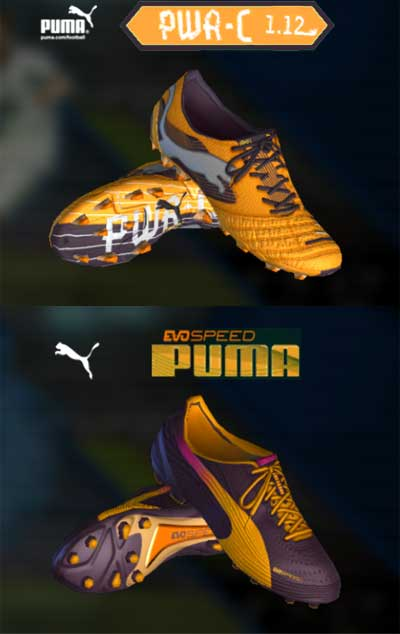 Puma colorway boots