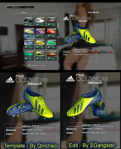 Adidas adizero F50 TRX FG Leather – Electri/Hero Ink/Silver