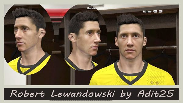 PES 2014 Robert Lewandowski