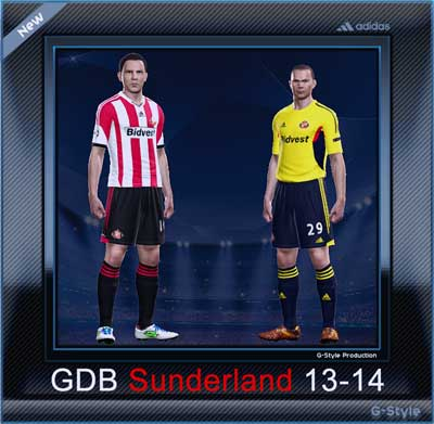 Sunderland 2014 Kit Set