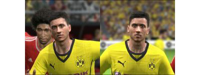 Face Robert Lewandowski