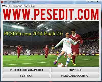 PESEdit.com 2014 Patch 2.0