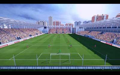 Ilie Oana Stadium - небольшой румынский стадион для Пес 2014. . Арена была