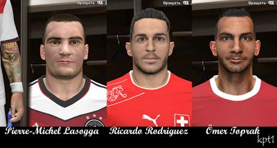 Bundesliga Facepack 2014 by Kapitone