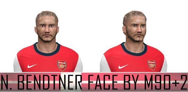 Nicklas Bendtner face