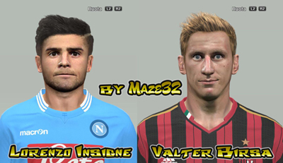 PES 2014 Faces mini pack