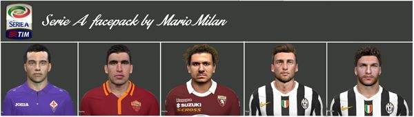 Serie A facepack vol.1