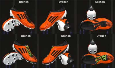 Adizero F50 2011 Orange [2 versions]