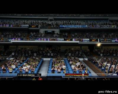 PANCARTAS REAL MADRID EN EL BERNABEU PES 2012 PC