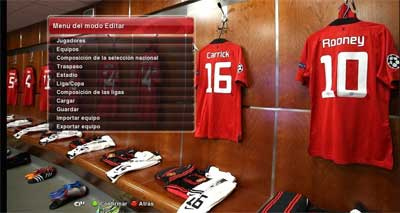 Pes 2014 Locker Room Manchester United by batman_17black