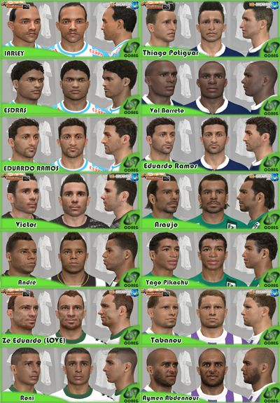 PES 2014 Face Pack #1